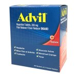 Advil Ibuprofen Pain Relief Medicine, 200 mg, 50 Packets (PFI015489)