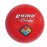 "Champion Sports Playground Ball, 8-1/2"", Red, 1 Each (CSIPG85)"