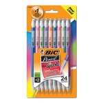 Bic Mechanical Pencils w/ Colorful Barrels, Assorted, 24 Pencils (BICMPLP241)
