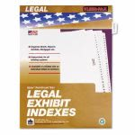 kleer-fax-80000-legal-index-dividers-side-tab-exhibit-b-25-pack-klf81002
