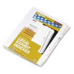 kleer-fax-80000-series-legal-index-dividers-side-tab-printed-7-25pack-klf81117
