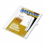 kleer-fax-80000-series-legal-index-dividers-side-tab-printed-11-25pack-klf81121