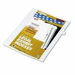kleer-fax-90000-series-legal-exhibit-index-dividers-side-tab-printed-8-25pack-klf91008