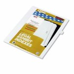 kleer-fax-90000-series-legal-exhibit-index-dividers-side-tab-printed-9-25pack-klf91009