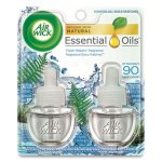 Air Wick Scented Oil Refill, Fresh Waters, .67-oz, 12 Refills (RAC79717CT)