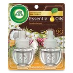 Air Wick Scented Oil Refills, Paradise Retreat, .67-oz, 12 Refills (RAC91110)