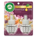 Air Wick Scented Oil Refills, Summer Delights, .67-oz, 12 Refills (RAC91112)
