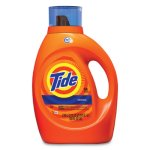 Tide HE Laundry Detergent, Original Scent, Liquid, 100oz Bottle, 4/Carton (PGC40217)
