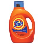 Tide Liquid Laundry Detergent, Original Scent, 3.1 qt. Bottle, 4/CT (PGC40218)