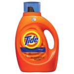 Tide HE Laundry Detergent, Original Scent, Liquid, 100oz Bottle (PGC40217EA)