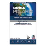 Boise POLARIS Copy Paper, 11 x 17, 24lb White, 2500 Sheets/Carton (CASPOL2417)