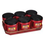 Folgers Coffee, Classic Roast, Ground, 30.5-oz, 6 Canisters (FOL20421CT)