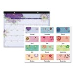 at-a-glance-12-month-paper-flowers-desk-pad-22-x-17-2020-aag5035