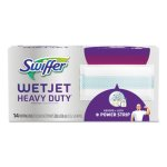 Swiffer WetJet Refill Cloths, Extra Power, White, 4 Boxes (PGC81790CT)