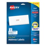 "Avery 8160 White Easy Peel Address Labels, 1"" x 2-5/8"", 750 Labels (AVE8160)"