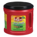 Folgers Coffee, Simply Smooth Flavor, 31.1 oz Canister (FOL20513)
