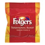 Folgers Ground Coffee Packs, Traditional Roast, 2oz, 42 Packs (FOL63006)