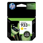 HP 933XL, (CN056AN) High Yield Yellow Original Ink Cartridge (HEWCN056AN)