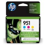 HP 951 (CR314FN) 3-pack Cyan, Magenta, Yellow Ink Cartridges (HEWCR314FN)
