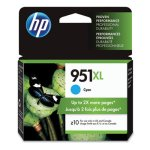 HP 951XL, (CN046AN) High Yield Cyan Original Ink Cartridge (HEWCN046AN)