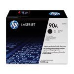 HP 90A, (CE390A) Black Original LaserJet Toner Cartridge (HEWCE390A)