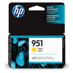 HP 951, (CN052AN) Yellow Original Ink Cartridge, 1 Each (HEWCN052AN)