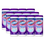 clorox-disinfecting-wipes-lavender-12-canisters-clo01654ct