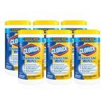 clorox-disinfecting-wet-wipes-lemon-fresh-scent-6-canisters-clo15948ct