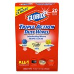 clorox-triple-action-dust-wipes-10-boxes-clo31313ct