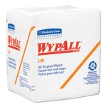 Wypall L40 Quarterfold All Purpose Wipers, 18 Packs (KCC05701)