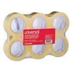 universal-box-sealing-tape-2-x-110-yards-3-core-clear-6-box-unv53200