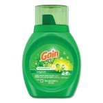 Gain 2X Laundry Detergent Liquid, Original Scent, 6 Bottles (PGC12783CT)