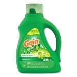 Gain 12786 Liquid Laundry Detergent, Original Scent, 4 Bottles (PGC12786)