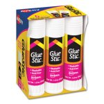 Avery Clear Application Permanent Glue Stics, 1.27 oz, 6/Pack (AVE98073)