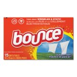 Bounce Dryer Sheets, Outdoor Fresh, 15 Sheets per Box, 15 Boxes (PGC95860CT)