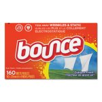 Bounce Fabric Softener Sheets, Outdoor Fresh, 160 Sheets/Box (PGC80168BX)