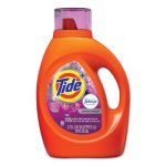 Tide Plus Febreze Laundry Detergent, Spring & Renewal, 4 Bottles (PGC87566CT)