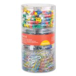 combo-clip-pack-assorted-binder-clips-paper-clips-push-pins-unv31203