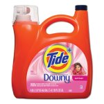 Tide Touch of Downy Laundry Detergent, April Fresh, 4 Bottles (PGC87456)