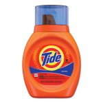 Tide Acti-lift Liquid Laundry Detergent, Original, 25-oz. Bottle (PGC13875)