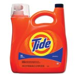 Tide Liquid Laundry Detergent, Original, 150 oz Pump Dispenser, 4/Carton (PGC40367)