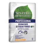 Seventh Generation Free & Clear Dishwasher Powder, 75 oz, 8 Boxes (SEV44736)