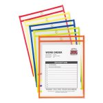 c-line-stitched-shop-ticket-holder-neon-assorted-5-colors-10-pack-cli43920