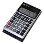 Innovera Handheld Calculator, Hard Flip Case, 8-Digit LCD, Dual Power (IVR15922)