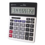 Innovera 15968 Compact Desktop Calculator, 12-Digit LCD (IVR15968)