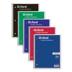 Tops Wirebound Notebook, College Rule, 11 x 8-1/2, 100 Sheets (TOP65161)