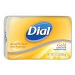 Dial Gold Antibacterial Deodorant Bar Soap, 72 - 3.5 oz Bars (DIA00910CT)