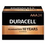 Duracell AAA Batteries w/Power Preserve, 24 Batteries (DUR02401)