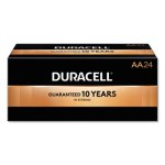 Duracell AA Alkaline Batteries with Duralock, 24 Batteries (DURMN1500B24)