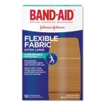 Band-aid Flexible Fabric XL Adhesive Bandages, 1-1/4 x 4, 10/Box (JOJ5685)